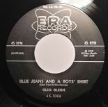 "45Re✦ GLEN GLENN ✦ ""Blue Jeans And A Boy's Shirt / Would 'Ja"" Killer Rockabilly♫"